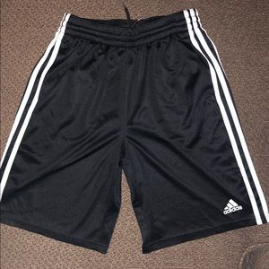 Adidas 3 stripes Mesh Climalite Shorts
